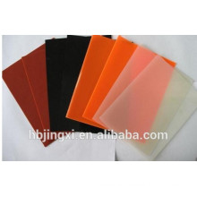 Transparent White Red Color Silicone Sheet