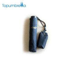 L'OREAL Zertifizierung Fabrik 21 Zoll 8 Riba 3 Falten Regenschirm mit Tasche