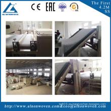 Thermal bonding polyester sheet waddings machine