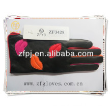 2016 promotional products leather gloves price for girls
