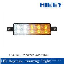 Luz de dia diurna LED para caminhão e reboque E-MARK dia de reboque luz de corrida