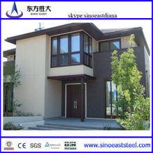 Estructura de acero de la casa de metal prefabricada