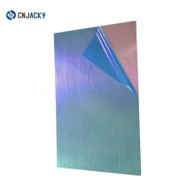 Xangai Boa Quantidade A4 Matte Padrão Aço Placa para PVC Cartão de Laminação