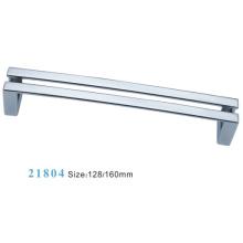 Aleación de zinc de muebles de hardware Tirar manija de gabinete (21804)