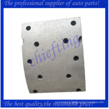 high quality non-asbestos front yutong bus brake lining