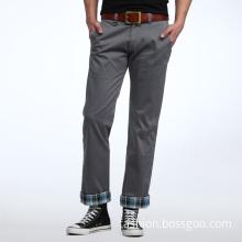 Men's Leisure Fashion Cotton Gray Long Pant (Lspant003)