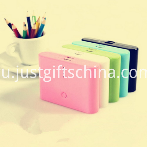 Promotional ABS Big Diamonds Power Bank 10400mAh_4