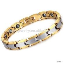 2015 nouveaux bracelets de santé magnétique en tungstène plaqué or rose WS405 radiation