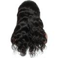 """В наличии 8A 10 """"-26"""" 130% плотность полные парики шнурка естественная волна бразильский парик человеческих волос детские волосы"""