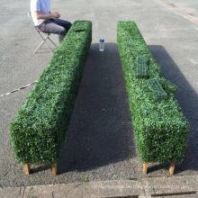 Natürliche Gartenwandpflanzer des Designerhausdekores für Hintergrund