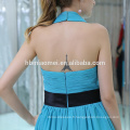 2017 Mode Classique Conceptions Bleu Court En Gros Robe De Soirée