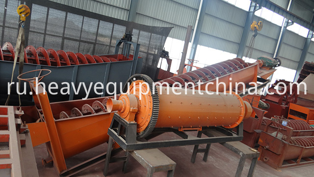 Ball Mill With Spiral Classifier
