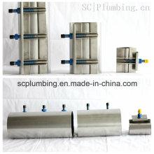 Abrazadera de reparación de acero inoxidable completa Fig. Sc120