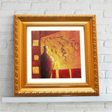 Resumen de la pintura al óleo de acrílico marco de fotos