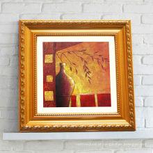 Arte abstrata da pintura a óleo Quadro acrílico da foto