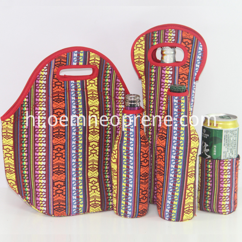 insulated lunch bag set