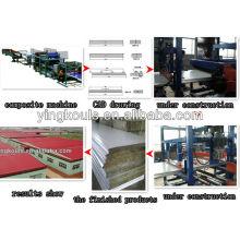 Профилегибочная машина для производства сэндвич-панелей EPS