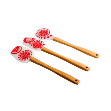 キッチンツールUniversial Flexible Silicone Spatula Set