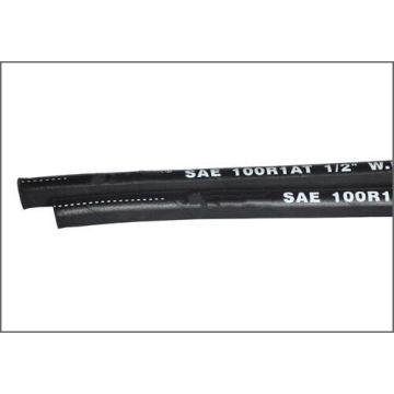 SAE 100r1 Mangueira hidráulica revestida de borracha reforçada com fio de aço