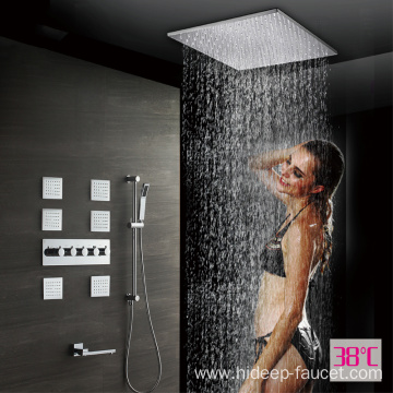 HIDEEP Four Function Thermostatic shower faucet