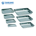 SKN012 Hospital Stainless Steel Surgical Instrument Impression Trays
