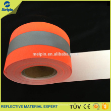 High Visibility Reflective Flame Retardant Fabric for Fire Retardant Clothing