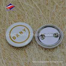 Custom metal creative safty pin kinds of pin badges