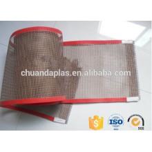 Customized Size Fiberglass Material Mesh High Temperature Teflon Conveyor Belt