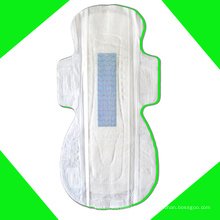 Private Label Maxi Anion Pad mit super weicher Baumwolle aus Damenbinden