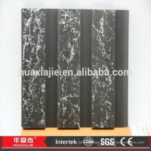 WPC Wood Plastic Marble Design Slatwall Cladding