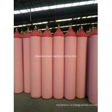 40L Красный кислородный газовый баллон (QF-2C)