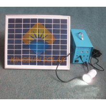 Micro-Grid 10W Portable Solar Home Lighting System Outdoor Lighting