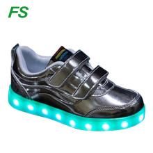 Wholesale kids Led shoes, led child shoes, student led shoes