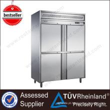 Máquinas de restaurante para venda Hotel Mobile Vegetable refrigerator stand
