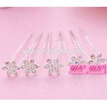 elegant ladies floral bride alloy fashion girl hair pin