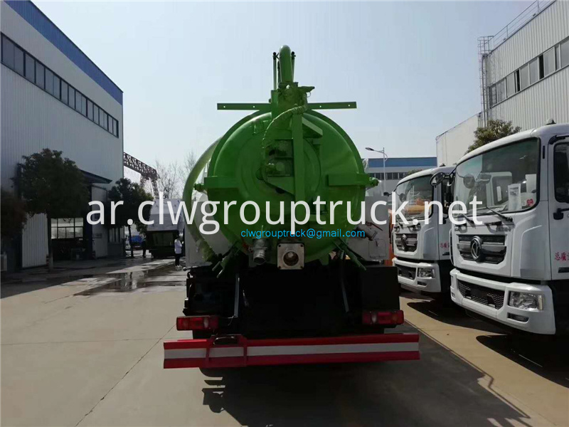 High Pressure Cleaning Suction Truck 5