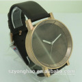 China made japan movt wrist leather strap luxury watch oem with man