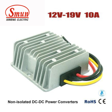 DC DC Converter 12V a 19V 10A Fuente de alimentación para portátiles