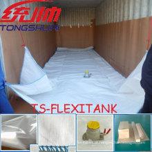 Flexitank para transporte líquido do recipiente