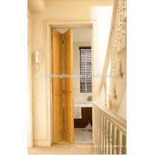 Varanda de madeira sólida porta de dobradura