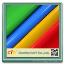 Textil cuero del PVC para la fabricación de zapato de cuero Material para la fabricación de calzado