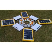 Sistema de carga del cargador de batería solar USB