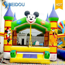 Популярный мини-прыжок с прыжками на замок Bouncer надувной замок