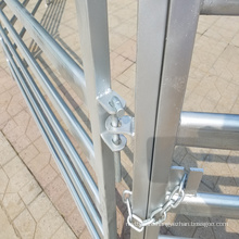 Animals galvanized metal yard fence panel for cattle horse goats livestocks