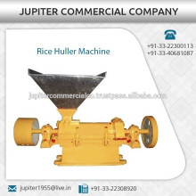 Fácil mantenimiento Máquina de desmenuzadora de arroz con durabilidad duradera
