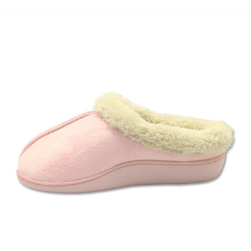 comfortable pink cotton wool house bedroom shoes slippers