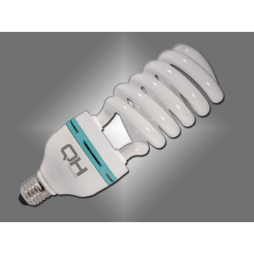 Alta potência 45w 14,5 mm meia espiral luz de poupança de energia