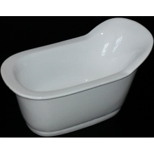 2015 New Design Acrylic Freestanding Plastic Bathtub for Adult