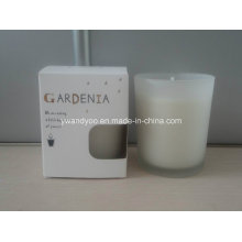 Gardenia Scented Glass Jar Candle