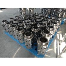Bouteille pharmaceutique à échantillonnage en acier inoxydable